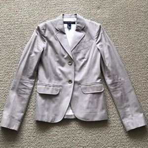 French Connection Gray Blazer | size 4